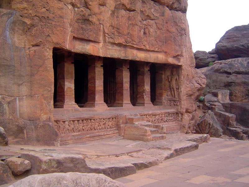 Peninsular India: Chalukya 1: Badami picture 23