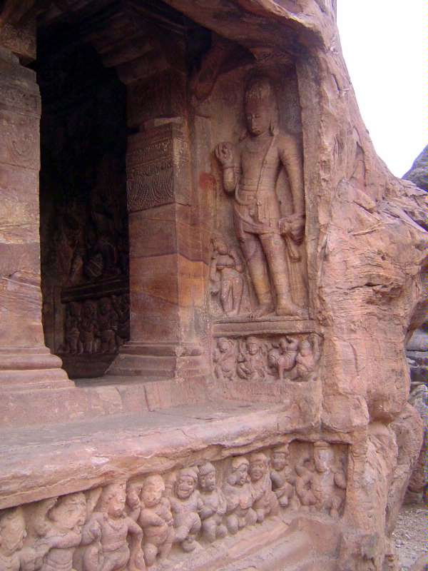 Peninsular India: Chalukya 1: Badami picture 24