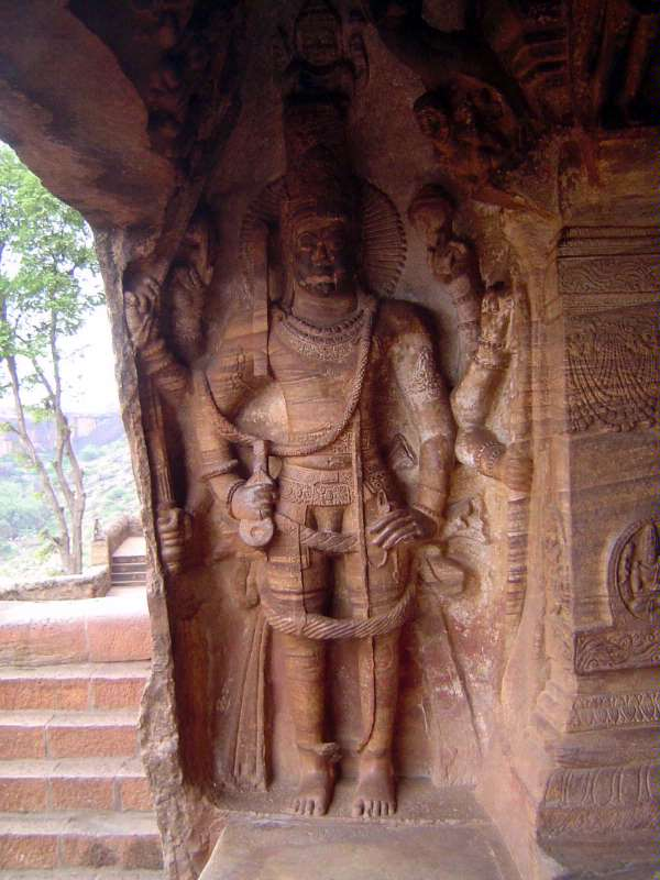 Peninsular India: Chalukya 1: Badami picture 28