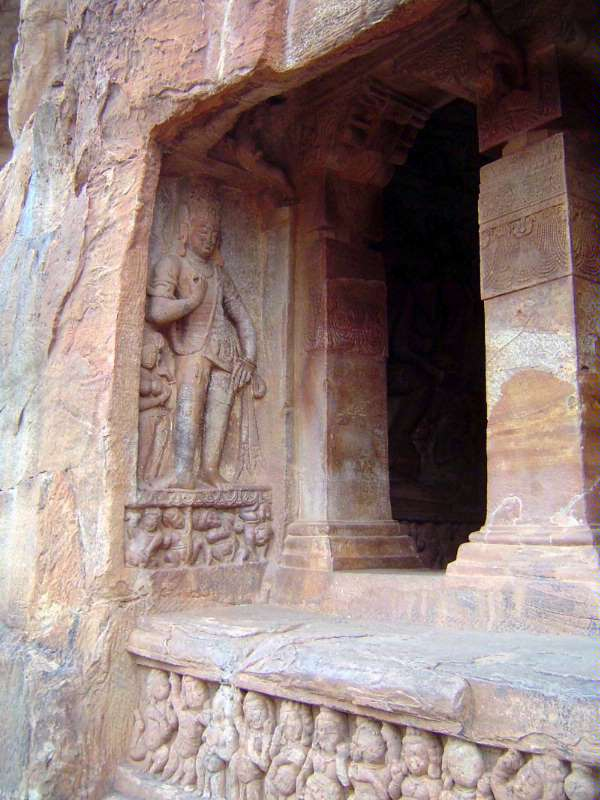 Peninsular India: Chalukya 1: Badami picture 25