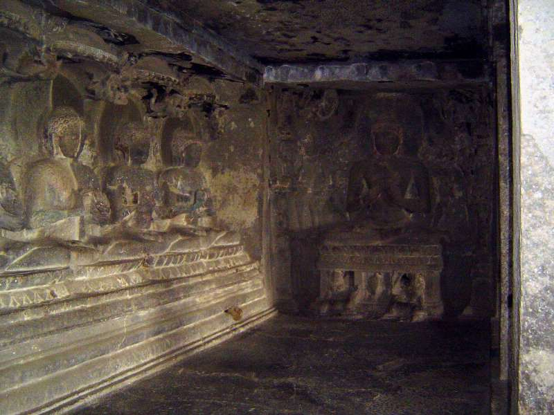 Peninsular India: Ellora (Buddhist) picture 9