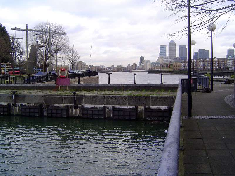 The United Kingdom: London 1: Older Docks