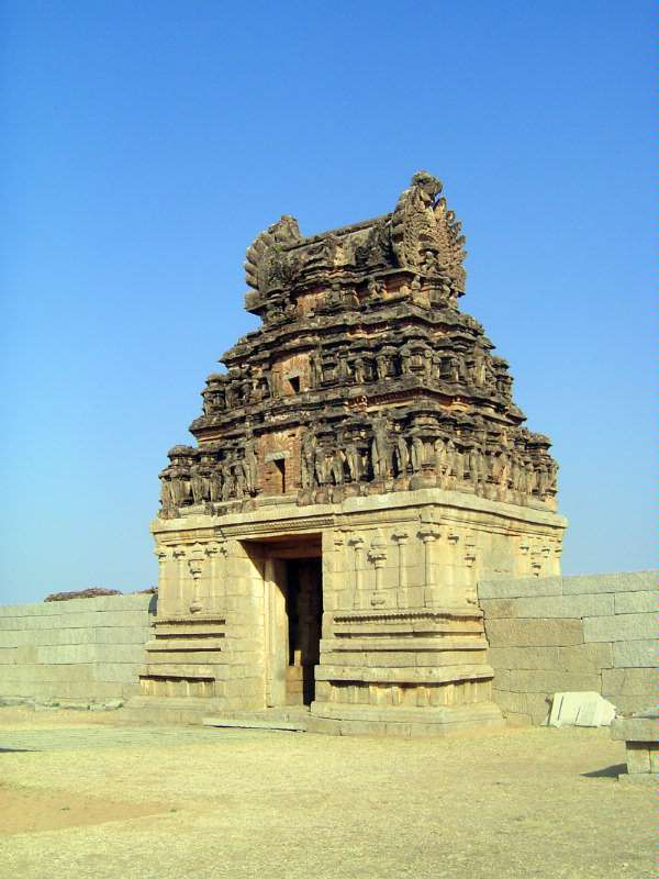 Peninsular India: Hampi Royal Center picture 4
