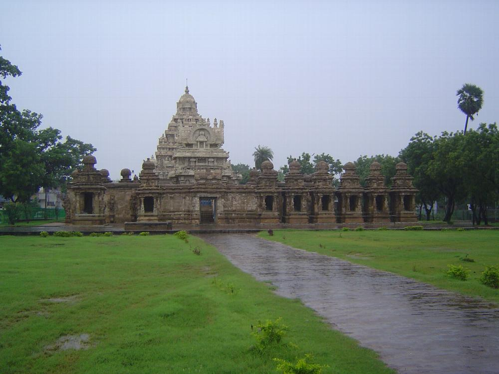 Peninsular India: Kanchipuram: Kailasanatha Temple picture 1