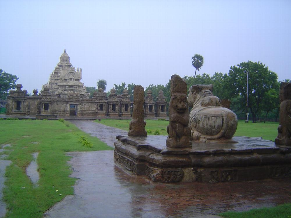 Peninsular India: Kanchipuram: Kailasanatha Temple picture 2