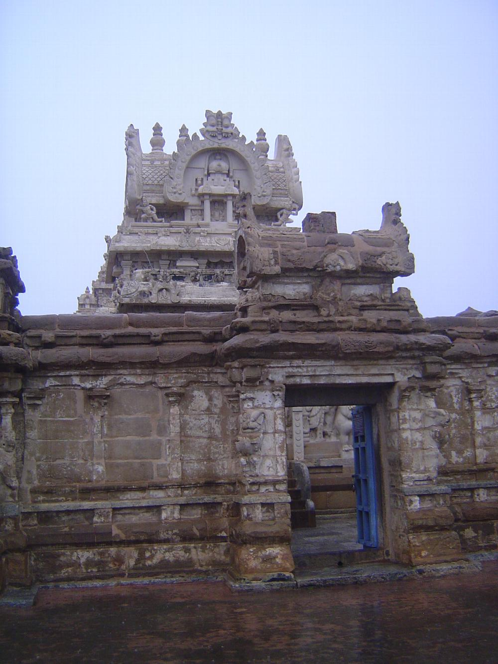 Peninsular India: Kanchipuram: Kailasanatha Temple picture 4