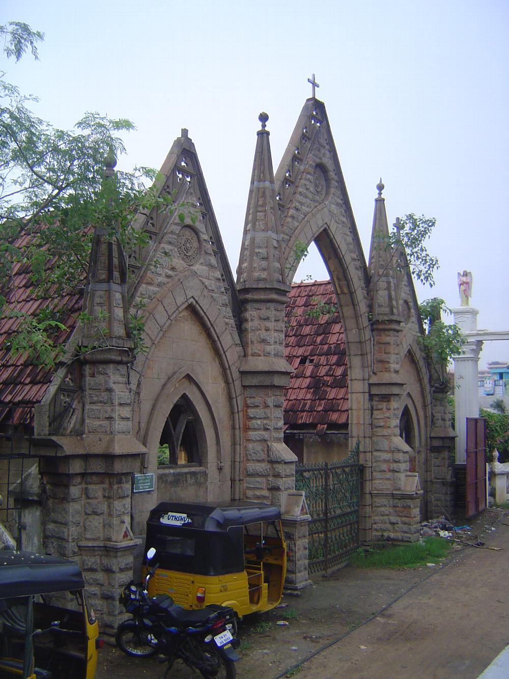Peninsular India: Chennai/Madras 4: The Old English Burial Ground picture 1