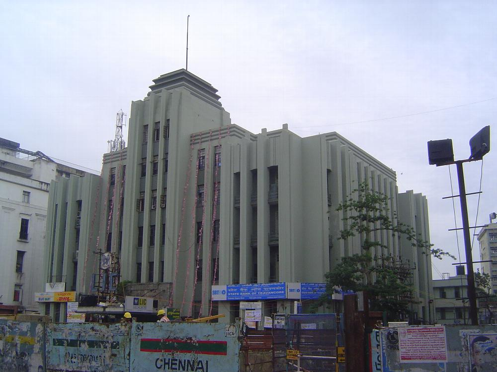 Peninsular India: Chennai/Madras 5: British Commercial Buildings picture 13