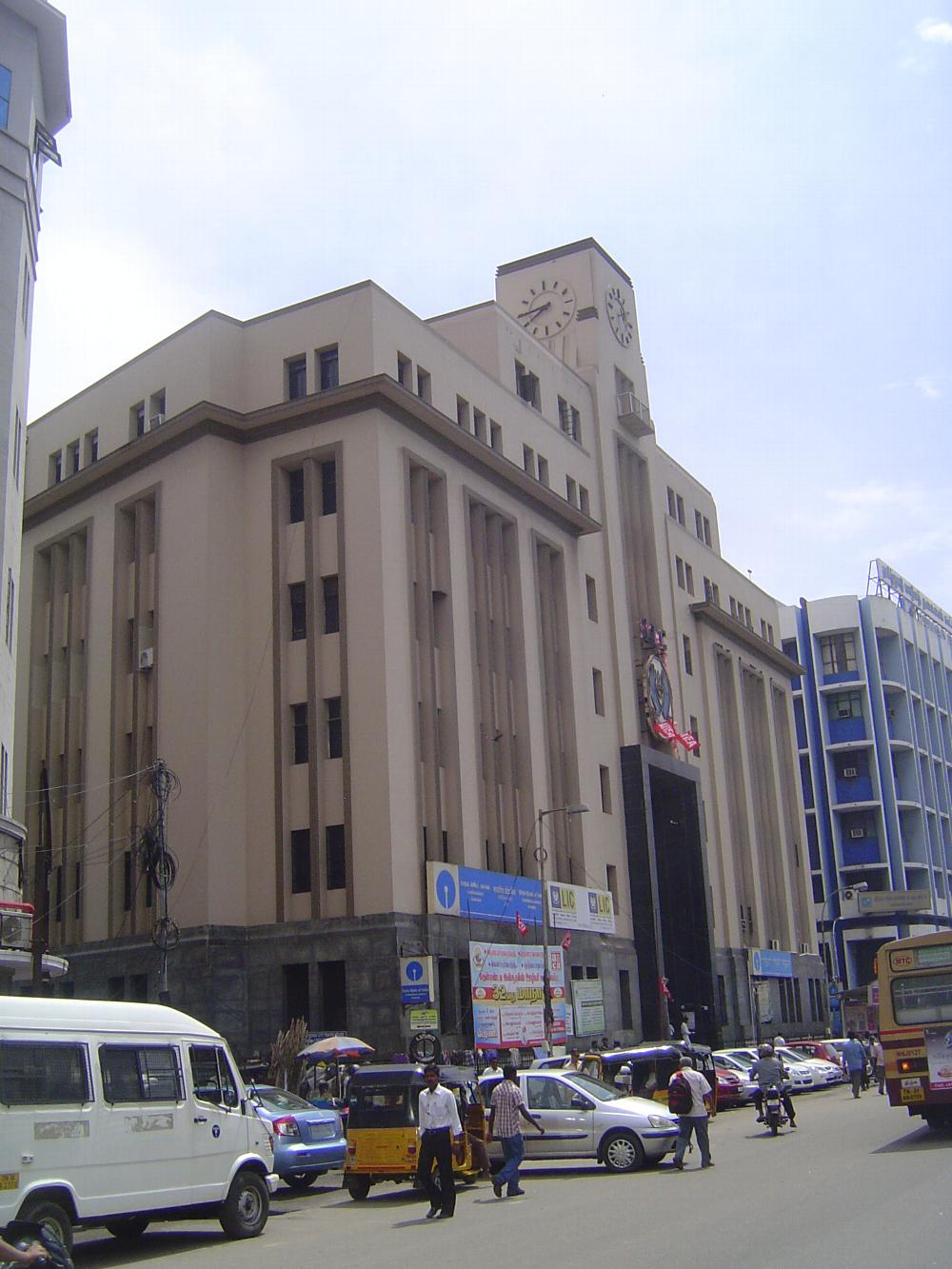 Peninsular India: Chennai/Madras 5: British Commercial Buildings picture 14