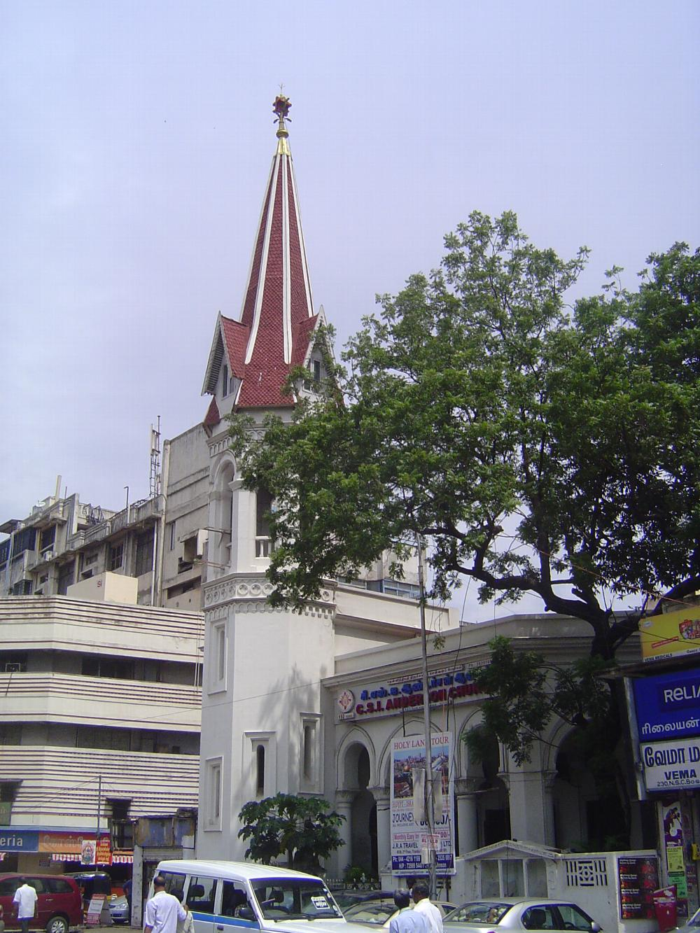 Peninsular India: Chennai / Madras 3: British Churches picture 28