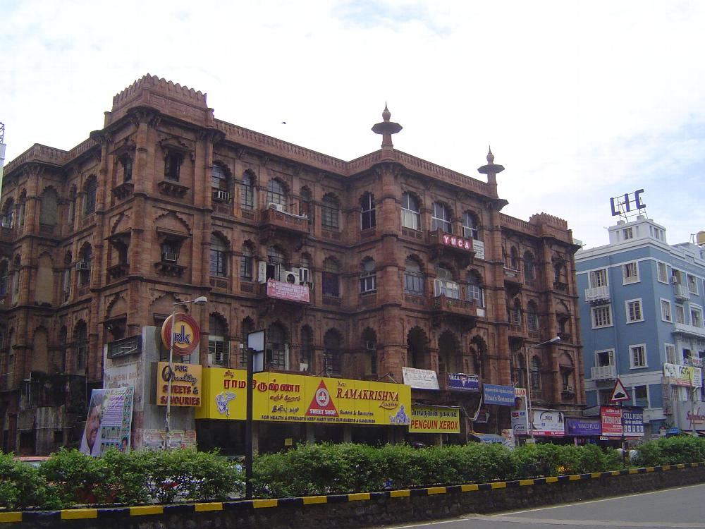 Peninsular India: Chennai/Madras 5: British Commercial Buildings picture 11