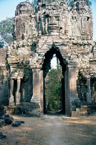 Cambodia (Angkor): The Periphery of Angkor Thom