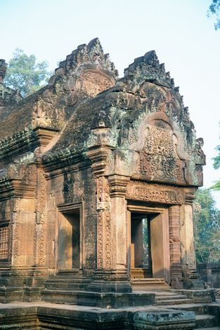Cambodia (Angkor): Banteay Srei picture 3