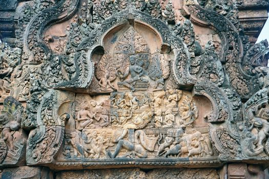 Cambodia (Angkor): Banteay Srei picture 7