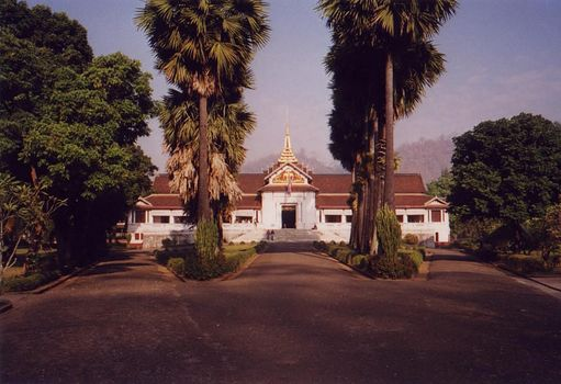 Laos: Luang Prabang Palace Grounds picture 1