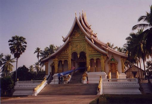 Laos: Luang Prabang Palace Grounds picture 3