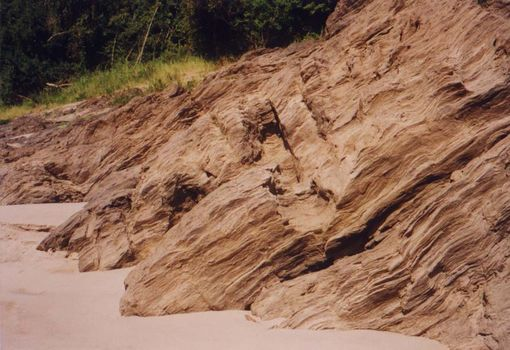 Laos: Mekong Below Houayxay picture 10