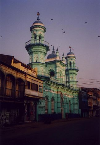 Burma / Myanmar: Moulmein  2:  Mosques, Churches, Schools picture 2