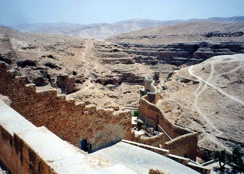The West Bank: Mar Saba picture 2
