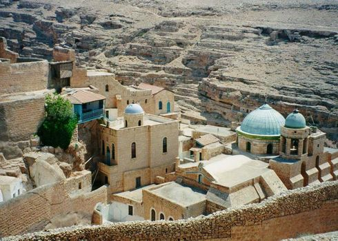 The West Bank: Mar Saba picture 3