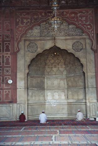 Northern India: Delhi's Jami Masjid picture 8