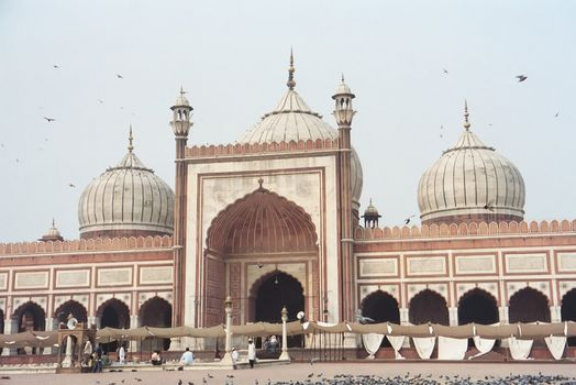 Northern India: Delhi's Jami Masjid picture 3