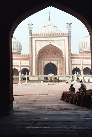 Northern India: Delhi's Jami Masjid picture 2