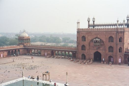Northern India: Delhi's Jami Masjid picture 5