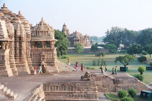 Northern India: Khajuraho