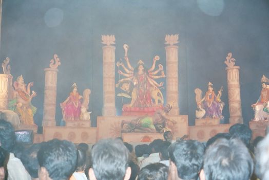 Northern India: Varanasi Dussehra picture 7