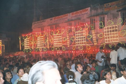 Northern India: Varanasi Dussehra picture 2