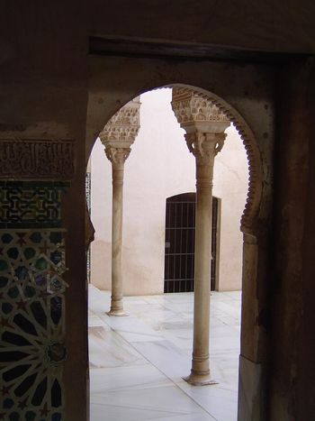 Spain: Granada: the Palaces of the Alhambra