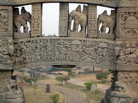 Peninsular India: Sanchi picture 7