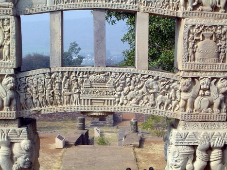 Peninsular India: Sanchi picture 17