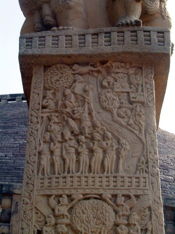 Peninsular India: Sanchi picture 23