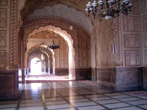 Pakistan: Lahore: Bad Shahi Mosque picture 12