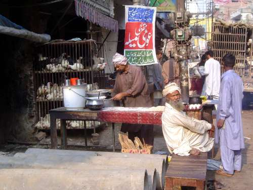 Pakistan: Lahore: the Old City picture 36