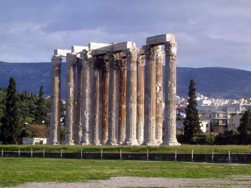 Greece: Theaters and the Temple of Olympian Zeus picture 6