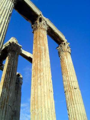 Greece: Theaters and the Temple of Olympian Zeus picture 9