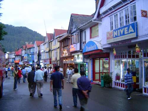Northern India: Shimla: Approach and Mall picture 23
