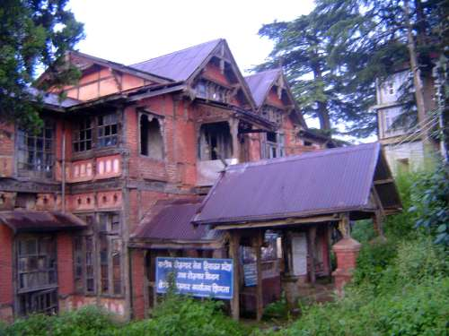 Northern India: Shimla Houses