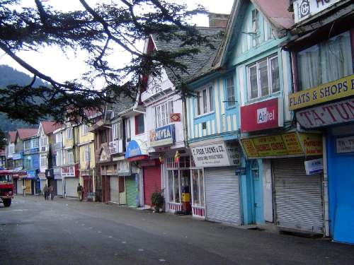 Northern India: Shimla: Approach and Mall picture 22