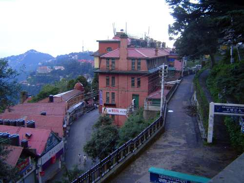 Northern India: Shimla: Approach and Mall picture 12