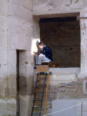 Egypt: Medinet Habu picture 14