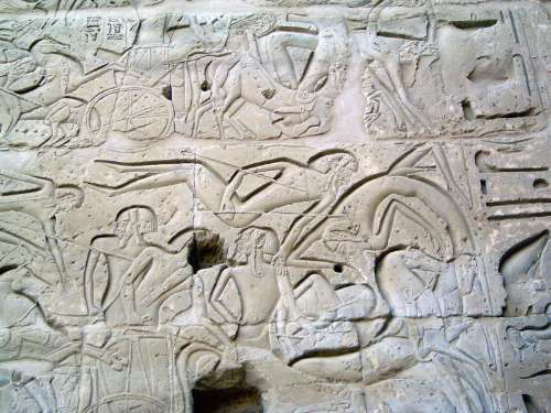 Egypt: Medinet Habu picture 24