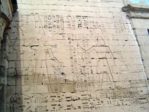 Egypt: Medinet Habu picture 29