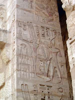 Egypt: Medinet Habu picture 36