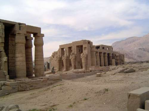Egypt: Ramesseum picture 2