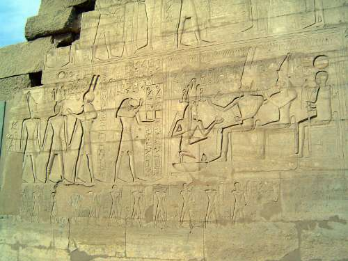 Egypt: Ramesseum picture 16