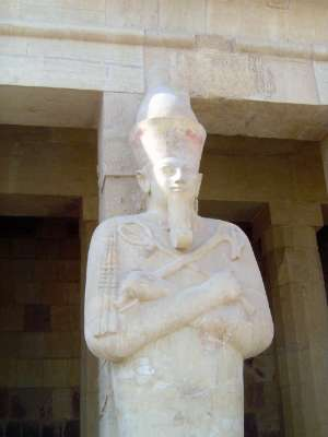 Egypt: Temple of Queen Hatshepsut picture 5